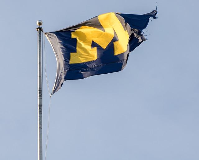 アメリカ・ミシガン州の旗