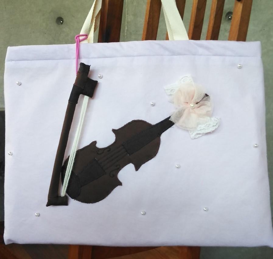 バイオリンバッグ完成