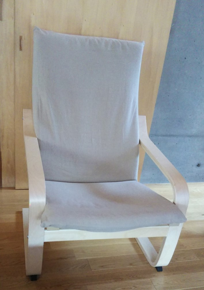 IKEA椅子カバー完成